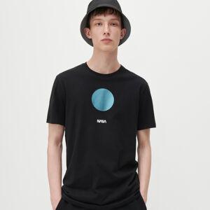 Reserved - Tričko NASA - Černý