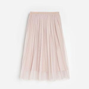 Reserved - Skládaná sukně - Béžová