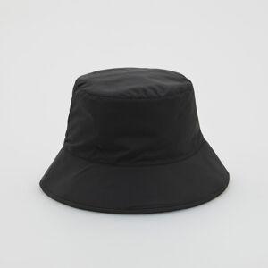 Reserved - Klobouk typu bucket hat - Černý