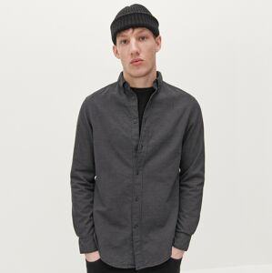 Reserved - Bavlněná košile regular fit - Černý