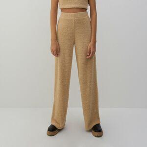 Reserved - Úpletové kalhoty - Béžová