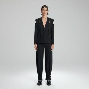 Reserved - Ladies` blazer - Černý