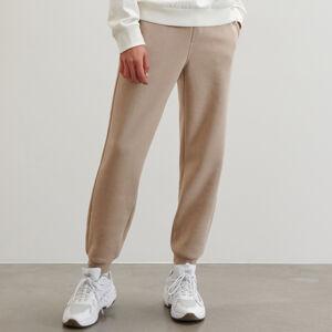 Reserved - Teplákové kalhoty jogger - Béžová
