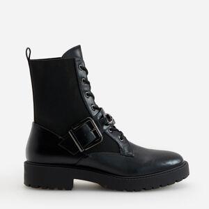 Reserved - Kombinované kotníčkové boty - Černý