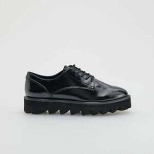 Reserved - Boty shrubou podrážkou - Černý