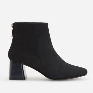 Reserved - Kotníkové boty na středním podpatku - Černý