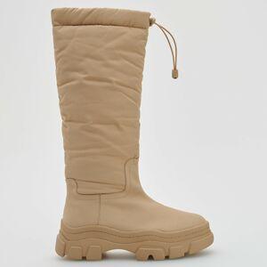 Reserved - Ladies` boots - Béžová