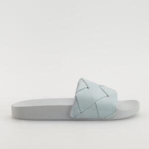 Reserved - Ploché pantofle - Modrá