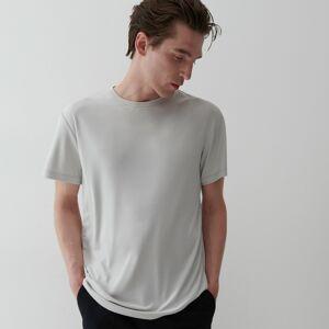 Reserved - Bavlněné tričko - Fialová