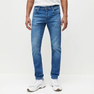 Reserved - DŽÍNY comfort fit - Modrá