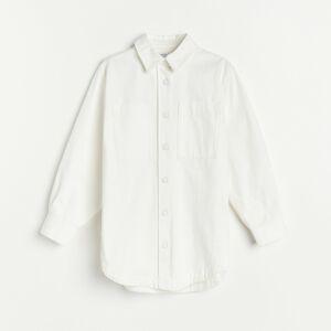 Reserved - Ladies` shirt - Krémová