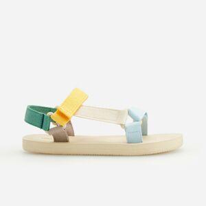 Reserved - Sandály na suchý zip - Vícebarevná