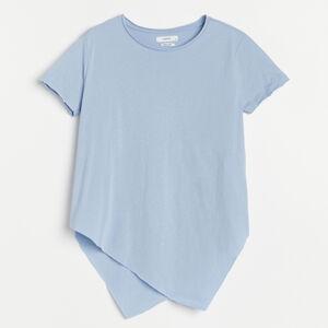 Reserved - Ladies` blouse - Modrá