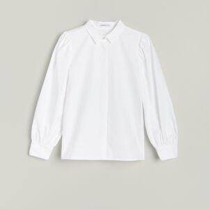 Reserved - Girls` shirt - Bílá