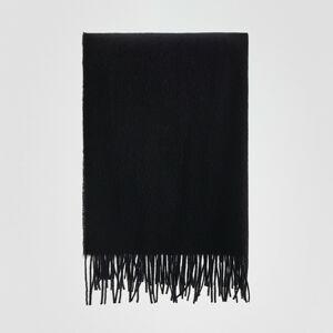 Reserved - Šála spříměsí vlny - Černý
