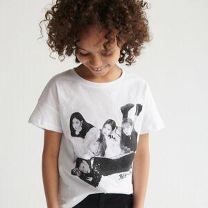 Reserved - Girls` t-shirt - Bílá