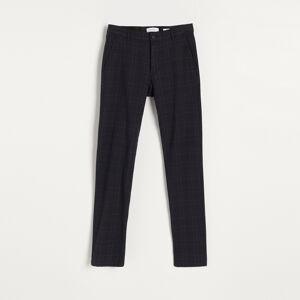 Reserved - Kalhoty chino slim fit - Tmavomodrá
