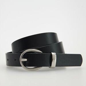 Reserved - Koženkový pásek - Černý