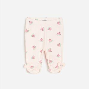 Reserved - Girls` trousers - Růžová