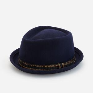 Reserved - Klasický vlněný klobouk - Tmavomodrá