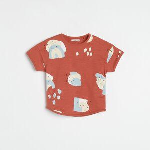 Reserved - Boys` t-shirt - Červená