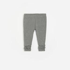 Reserved - Kalhoty se stahovací šňůrkou - Světle šedá