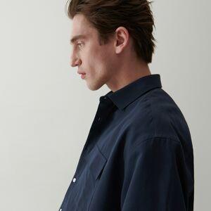 Reserved - Košile skrátkými rukávy - Tmavomodrá