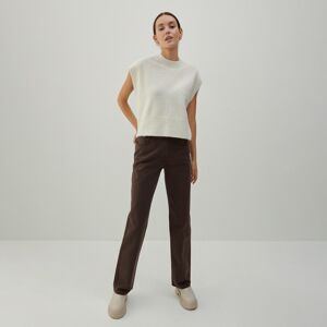 Reserved - Ladies` jeans trousers - Hnědá