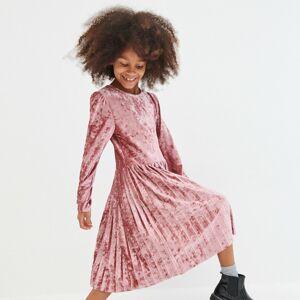 Reserved - Sametové šaty - Fialová