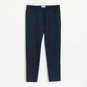 Reserved - Kalhoty joggers - Tmavomodrá