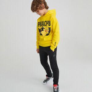 Reserved - Bavlněné kalhoty joggers - Černý
