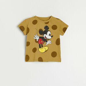 Reserved - Tričko Mickey Mouse - Hnědá