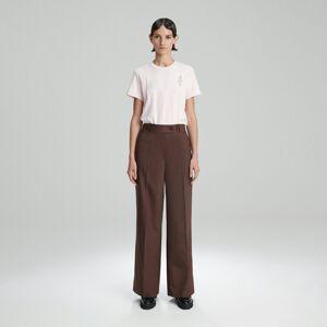 Reserved - Tričko zorganické bavlny - Růžová