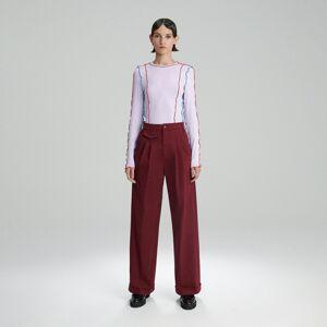 Reserved - Ladies` blouse - Fialová
