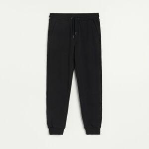 Reserved - Teplákové kalhoty slim fit - Černý