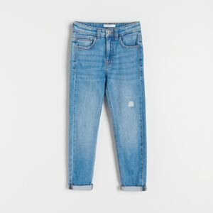 Reserved - Boys` jeans trousers - Modrá
