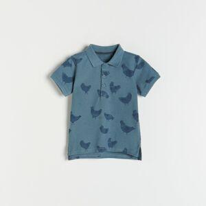 Reserved - Boys` polo - Modrá