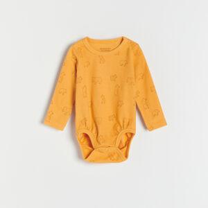 Reserved - Babies` body suit - Oranžová