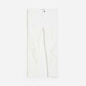 Reserved - Džíny slim fit - Bílá