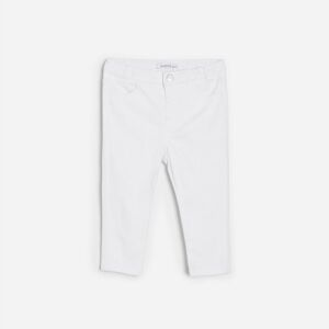 Reserved - Girls` trousers - Bílá