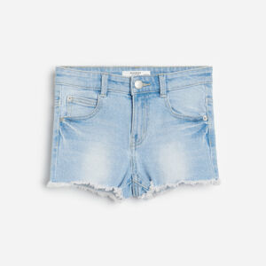 Reserved - Girls` shorts - Modrá