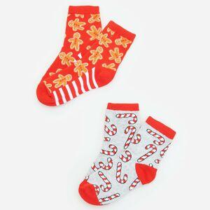 Reserved - Chlapecké ponožky - Červená
