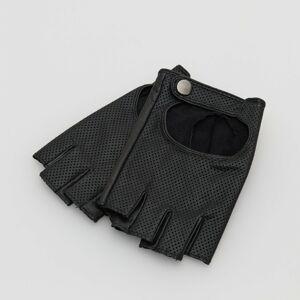 Reserved - Ladies` gloves - Černý