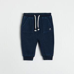 Reserved - Kalhoty jogger - Tmavomodrá