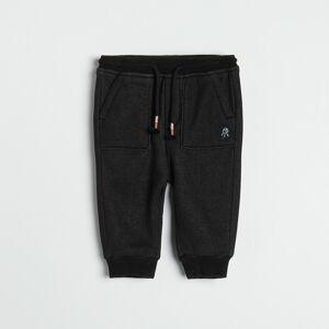 Reserved - Kalhoty jogger - Černý
