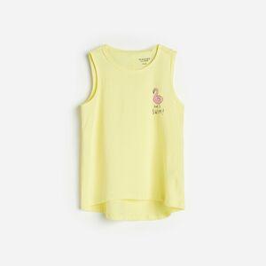 Reserved - Tričko s potiskem - Žlutá