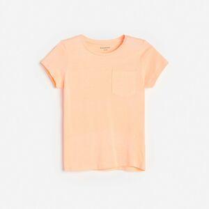 Reserved - Neonové tričko skapsou - Oranžová