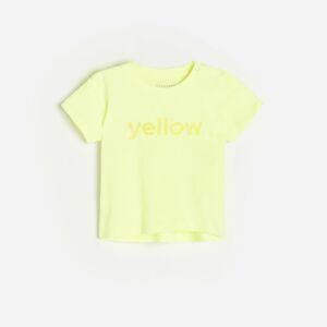 Reserved - Babies` t-shirt - Žlutá