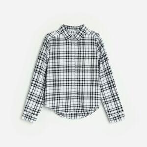 Reserved - Kostkovaná košile - Bílá