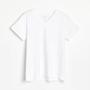 Reserved - Tričko zpima bavlny - Krémová